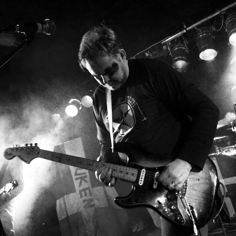 Mattias Alkberg in the band Dead Alkberg. Pipeline 2013. Photo: Anna Isabella Sandberg