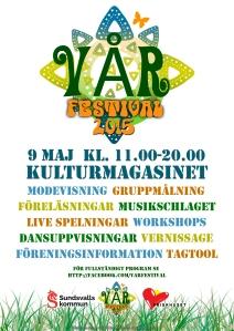 Vår Festival Poster 2015
